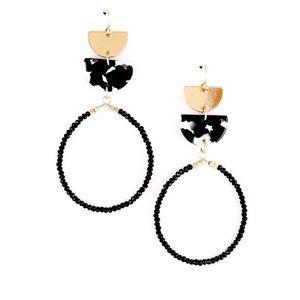 Jewelry - Mixed Media Dangle Earrings
